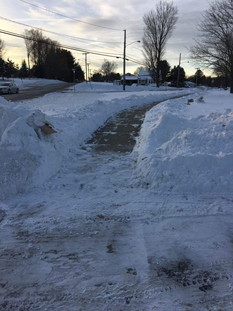 Removed Snow