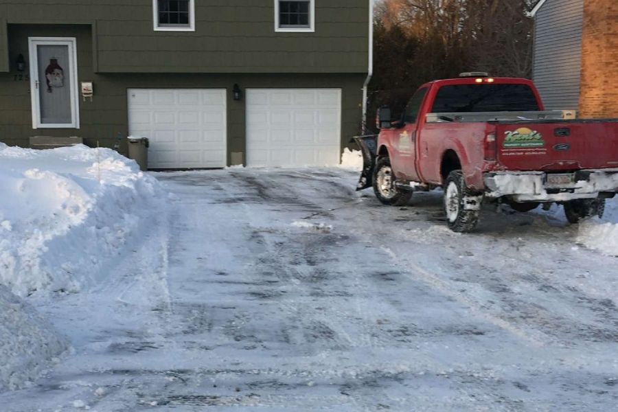 Snow Plowing and Sanding